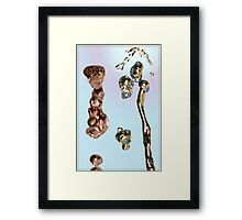 Water on the up Framed Print