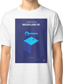 No323 My MULHOLLAND DRIVE minimal movie poster Classic T-Shirt