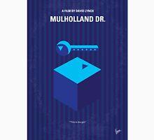 No323 My MULHOLLAND DRIVE minimal movie poster T-Shirt