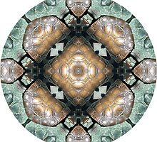 Frog Mandala by Pam Blackstone