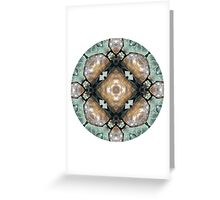 Frog Mandala Greeting Card