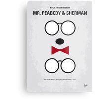 No324 My Mr Peabody minimal movie poster Metal Print