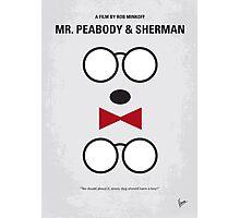 No324 My Mr Peabody minimal movie poster Photographic Print