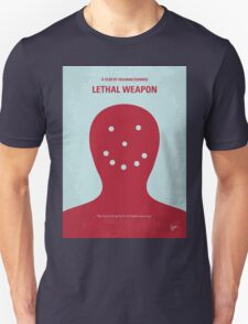 No327 My Lethal Weapon minimal movie poster T-Shirt