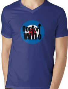 QUAD DOCTOR Mens V-Neck T-Shirt