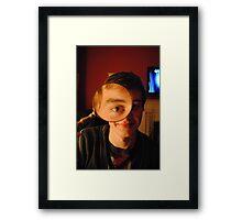 Eye eye! Framed Print