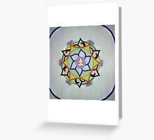 Chakra Mandala Greeting Card