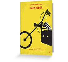 No333 My EASY RIDER minimal movie poster Greeting Card