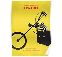 No333 My EASY RIDER minimal movie poster Poster