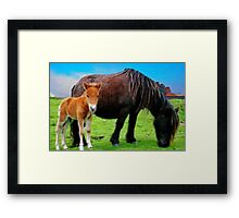 Me and Mum Framed Print