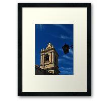 The Belfry Framed Print