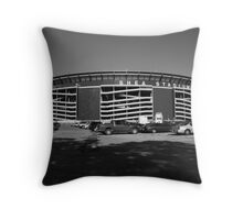 Shea Stadium - New York Mets Throw Pillow