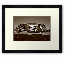 Shea Stadium - New York Mets Framed Print