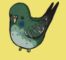 Green Budgie by Earth-Gnome