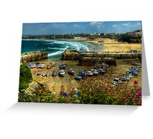 Newquay Greeting Card