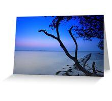 Peaceful beach Greeting Card