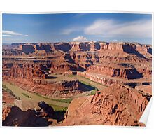 The Colorado at Dead Horse Point, Utah Poster