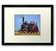 steam traction engine Ransomes Sims and Jefferies General Purpose Engine Framed Print
