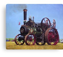 steam traction engine Ransomes Sims and Jefferies General Purpose Engine Canvas Print