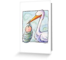 Baby Delivery Card Greeting Card