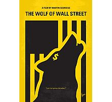No338 My wolf of wallstreet minimal movie poster Photographic Print