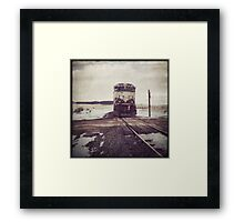 """Oncoming Train"" Framed Print"