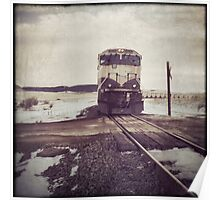 """""""Oncoming Train"""" Poster"""