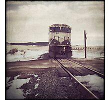 """Oncoming Train"" Photographic Print"