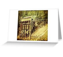"""""""Old Mining Building"""" Greeting Card"""
