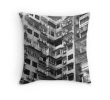 Urban Ugliness  Throw Pillow