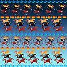 Three Ancient Horses by Lotacats