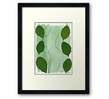 Green Nude Framed Print