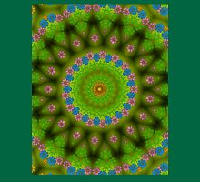Green abstract pattern Unisex T-Shirt