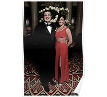 Queen Mary 2 Studio Photography  Poster