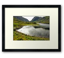 The Gap Framed Print