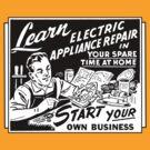 Vintage Ad - Learn Appliance Repair by Jen Dixon