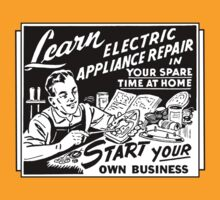 Vintage Ad - Learn Appliance Repair by Jen Dixon