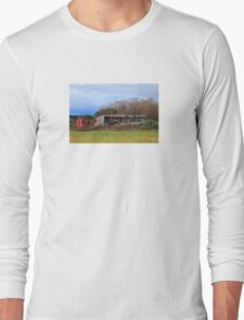 Rustic Farm Sheds Long Sleeve T-Shirt