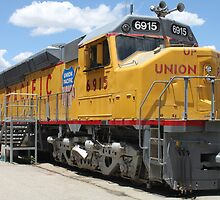 Union Pacific No. 6915... by DonnaMoore