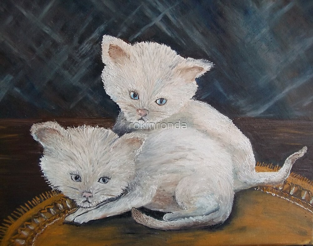 Kittens so CUTE! by rokinronda