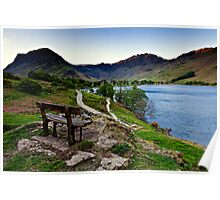 Haystacks View, Buttermere, Cumbria. UK Poster