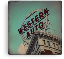 Western Auto Building - Kansas City, Missouri Canvas Print
