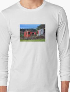 Rustic Red Shed Long Sleeve T-Shirt