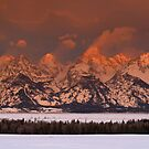 Grand Teton Sunrise by Stephen Vecchiotti