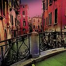 Venice little bridge by amira