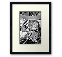 From the Past. Framed Print