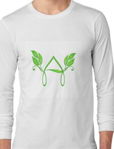 The alphabet A Long Sleeve T-Shirt