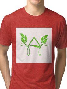 The alphabet A Tri-blend T-Shirt