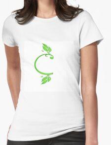 Alphabet c Womens Fitted T-Shirt
