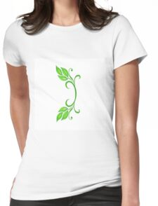 Letter I Womens Fitted T-Shirt